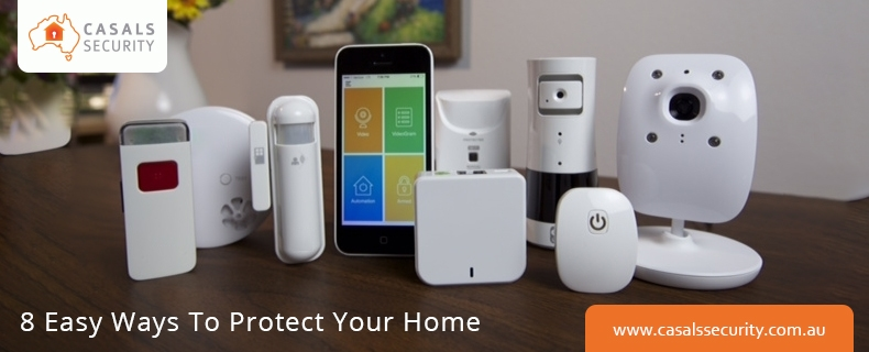 8 easy & affordable ways to protect your home