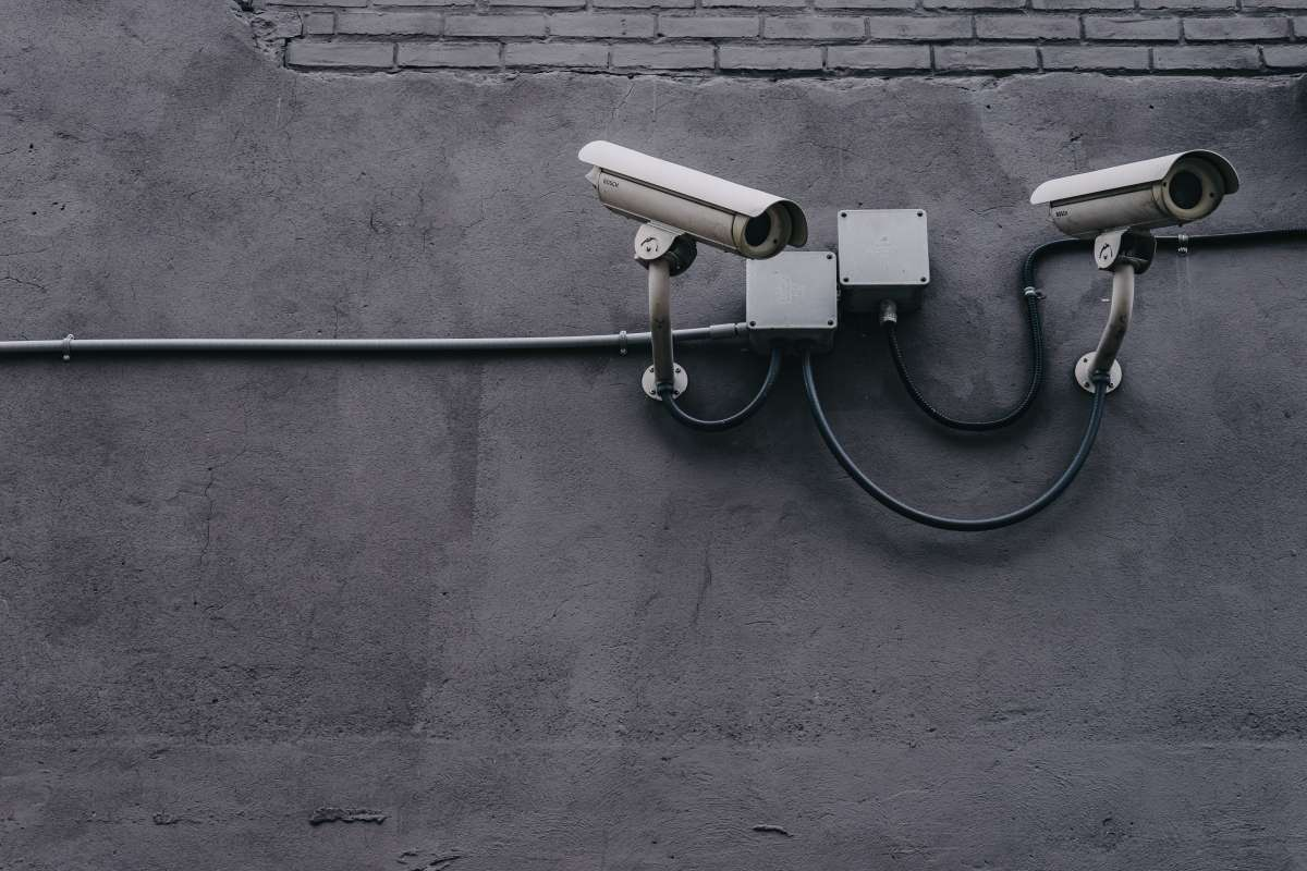 how do you know if a security camera is recording