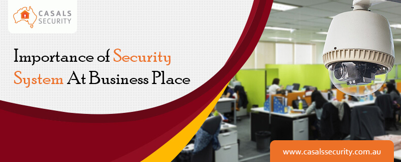 Importance of security system at business place