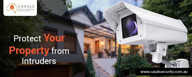 Protect your property from intruders